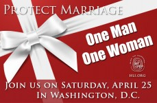 March for Marriage with HLI