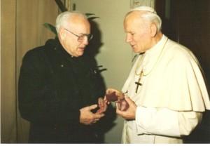 Fr. Marx and Pope John Paul II-3