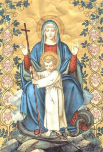 The Blessed Virgin Mary, Protector of Life and Family